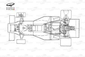 McLaren M23B 1976 detailed top view