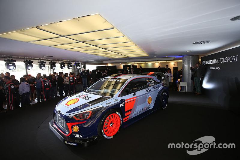Hyundai Motorsport svela la Hyundai i20 Coupe WRC 2017