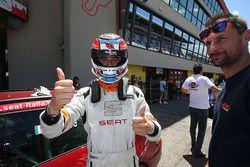 Il vincitore della gara Giacomo Altoe, Seat Motor Sport Italia, Seat Leon Cupra ST-TCS2.0