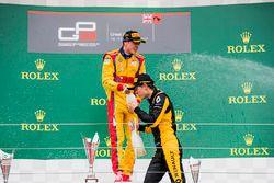 Podium : le vainqueur Giuliano Alesi, Trident, le deuxième Jack Aitken, ART Grand Prix