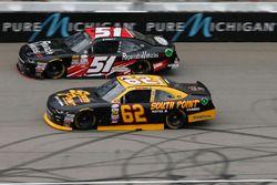 Brendan Gaughan, Richard Childress Racing Chevrolet Jeremy Clements, Jeremy Clements Racing Chevrole