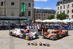 №28 TDS Racing Oreca 07 Gibson: Франсуа Перродо, Матье Ваксивьер, Эммануэль Коллар; №26 G-Drive Raci