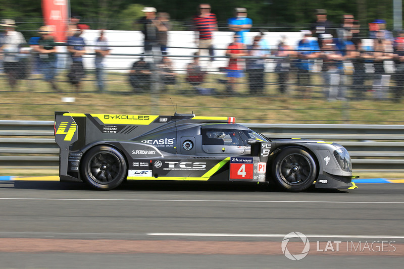 6. LMP1: #4 ByKolles Racing, CLM P1/01 Nissan