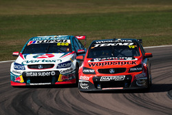 Will Davison, Tekno Autosports Holden, Craig Lowndes, Triple Eight Race Engineering Holden