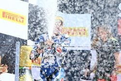 Podium: Second place Alex Lowes, Pata Yamaha