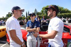 Gustavo Menezes, Signatech Alpine, Pipo Derani, Ford Chip Ganassi Racing, André Negrao, Signatech Al