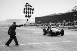 Jose Froilan Gonzalez, 1st position, Ferrari's first GP victory