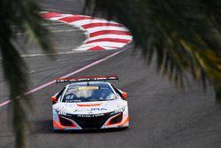 #43 RealTime Racing, Acura NSX GT3: Ryan Eversley