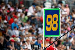 Alexander Rossi, Herta - Andretti Autosport Honda señal