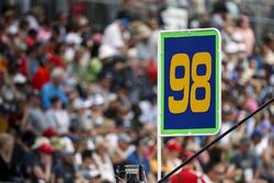 Alexander Rossi, Herta - Andretti Autosport Honda sign