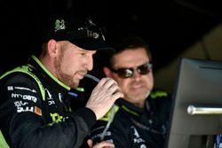 Charlie Kimball, Chip Ganassi Racing Honda, Eric Cowdin