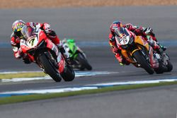 Chaz Davies, Ducati Team, Stefan Bradl, Honda World Superbike Team