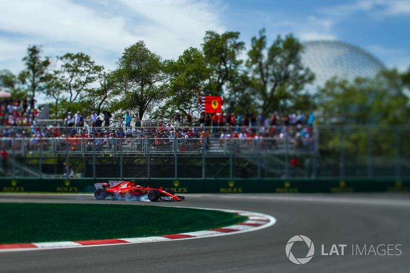 Verbremser: Kimi Raikkonen, Ferrari SF70H