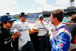 Nicolas Prost, Renault e.Dams, Nelson Piquet Jr., NEXTEV TCR Formula E Team, Adam Carroll, Jaguar Ra