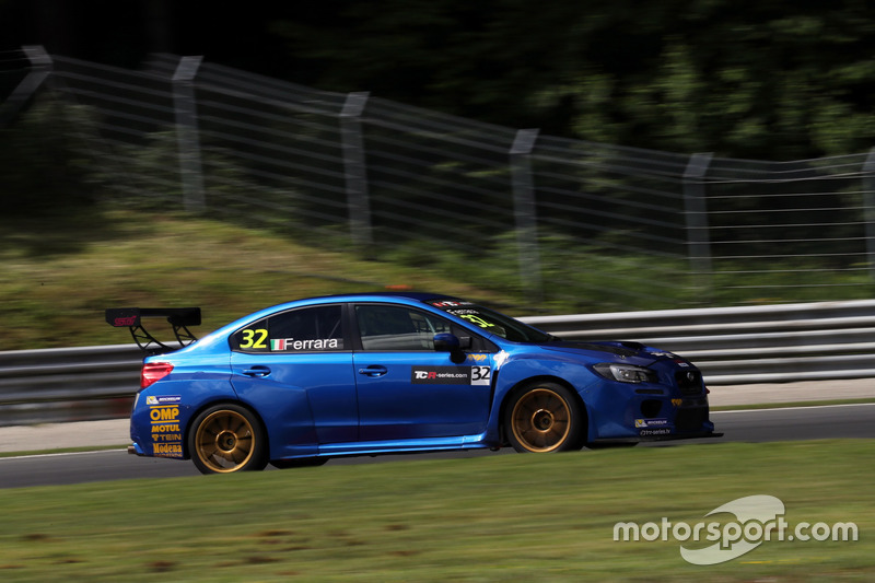 Luigi Ferrara, Top Run Motorsport, Subaru WRX STi TCR
