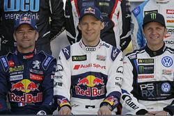 Sébastien Loeb, Team Peugeot-Hansen, Peugeot 208 WRX, Mattias Ekström, EKS, Audi S1 EKS RX Quattro,