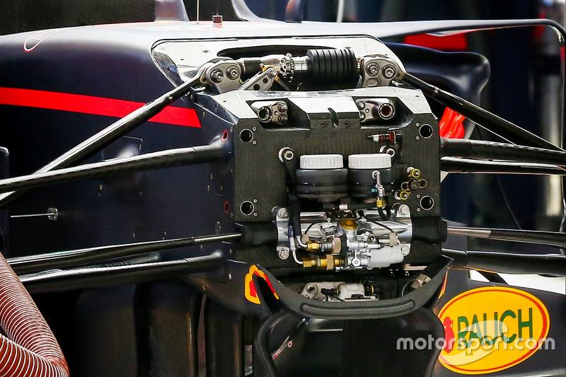 Red Bull RB13 turning vanes