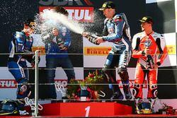 Podyum: Yarış galibi Lucas Mahias, GRT Yamaha Official WorldSSP Team, 2. Sheridan Morais, Kallio Rac