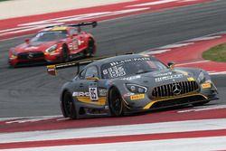 #85 Mercedes-AMG Team HTP Motorsport, Mercedes-AMG GT3: Fabian Schiller, Jules Szymkowiak
