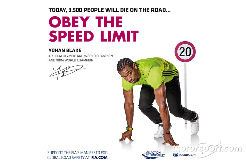 Yohan Blake, campeón olímpico y del mundo de 4x100m y campeón del mundo de 100m