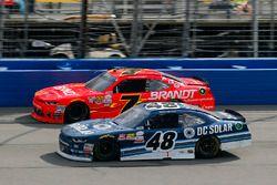 Бреннан Пул, Chip Ganassi Racing Chevrolet и Джастин Алгайер, JR Motorsports Chevrolet