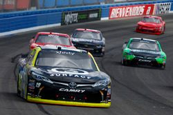 Matt Tifft, Joe Gibbs Racing Toyota, Dakoda Armstrong, JGL Racing Toyota