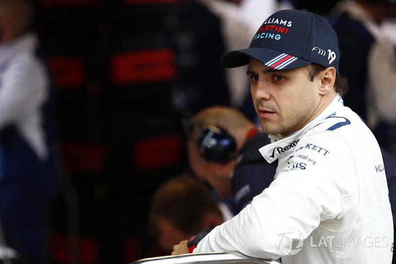 Felipe Massa (zou graag nog een jaar doorgaan)