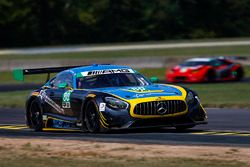 #80 Lone Star Racing Mercedes AMG GT3: Dan Knox, Mike Skeen