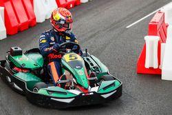Daniel Ricciardo, Red Bull Racing, in a kart