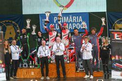 Giandomenico Basso e Lorenzo Granai sul podio del Transilvania Rally