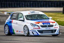 Stefano Accorsi guida la Peugeot 308 Racing Cup