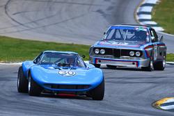 #30 1965 Cheetah Jay Stephenson #42 1973 BMW CSL Dick York