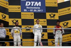 Podium: 1. Lucas Auer, Mercedes-AMG Team HWA, Mercedes-AMG C63 DTM; 2. Timo Glock, BMW Team RMG, BMW M4 DTM; 3. Mike Rockenfeller, Audi Sport Team Phoenix, Audi RS 5 DTM