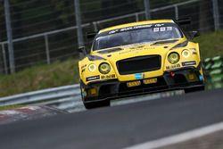 #38 Bentley Team Abt, Bentley Continental GT3: Christer Jöns, Christian Mamerow, Jordan Pepper