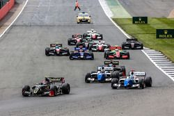 Start: Pietro Fittipaldi, Lotus, führt