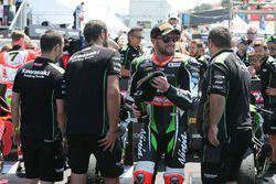 Tom Sykes, Kawasaki Racing, fête sa deuxième place
