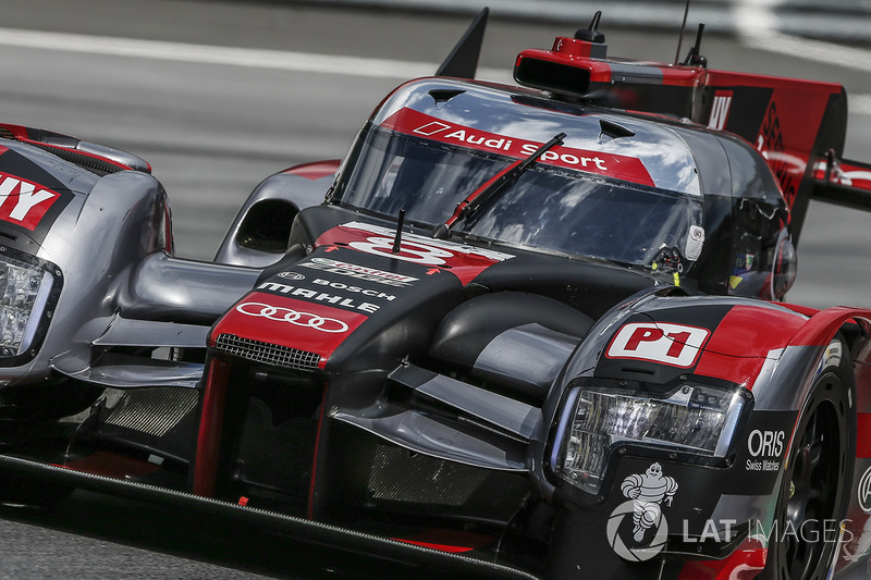 Tom Kristensen, Audi R18 on the Legends Parade