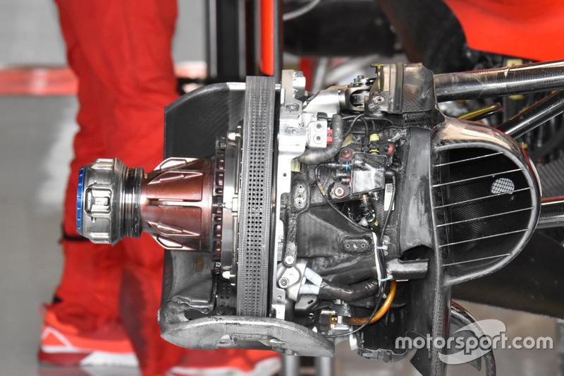 Ferrari SF70h, fren detay