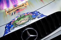 Detalle #75 SunEnergy1 Racing Mercedes AMG GT3: Kenny Habul, Tristan Vautier