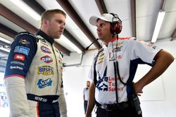Chris Buescher, JTG Daugherty Racing Chevrolet, Trent Owens