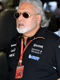 Виджей Малья, владелец Sahara Force India F1