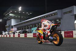 MotoGP 17 screenshot, Marc Marquez