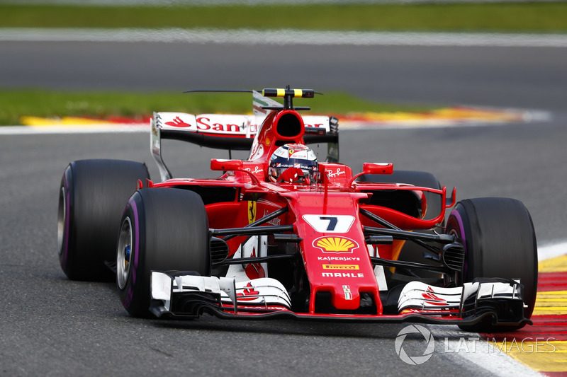 Kimi Raikkonen not happy with being given a penalty