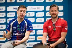 Basın toplantısı: Robin Frijns, Amlin Andretti Formula E Team, Nick Heidfeld, Mahindra Racing