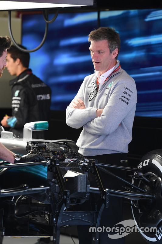 Технический директор Mercedes AMG F1 Джеймс Эллисон