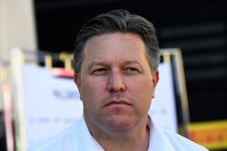زاك براون، الرئيس التنفيذى لمجموعة مكلارين