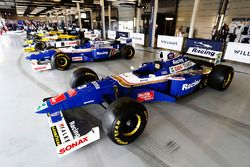 A Williams FW19 Renault , FW18 Renault , FW11 Honda, FW10 Honda