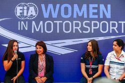 Marta Garcia, Renault Sport F1 Team Sport Academy, Michelle Mouton, Tatiana Calderon, Sauber and Mon