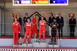 Riccardo Adami, Ingeniero de carrera de Ferrari, Kimi Raikkonen, de Ferrari, Sebastian Vettel, Ferra