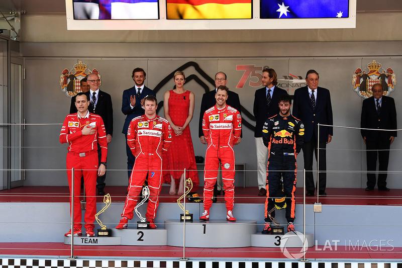 Riccardo Adami, Ferrari Yarış mühendisi, Kimi Raikkonen, Ferrari, Sebastian Vettel, Ferrari ve Danie